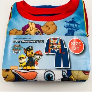 2T New Paw Patrol Two piece Pajama Sleep Set